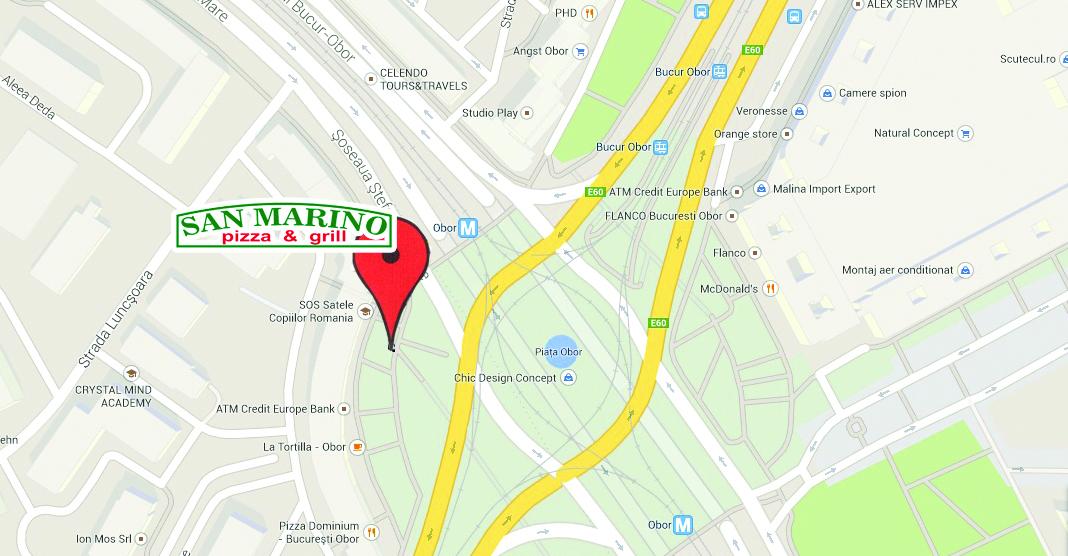 Harta Pizza San Marino Pizza San Marino Obor